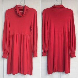 🆕 Kensie Silk Blend Knit Turtleneck Sweater Dress